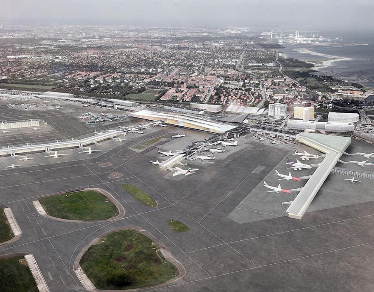 Københavns lufthavn udvidet