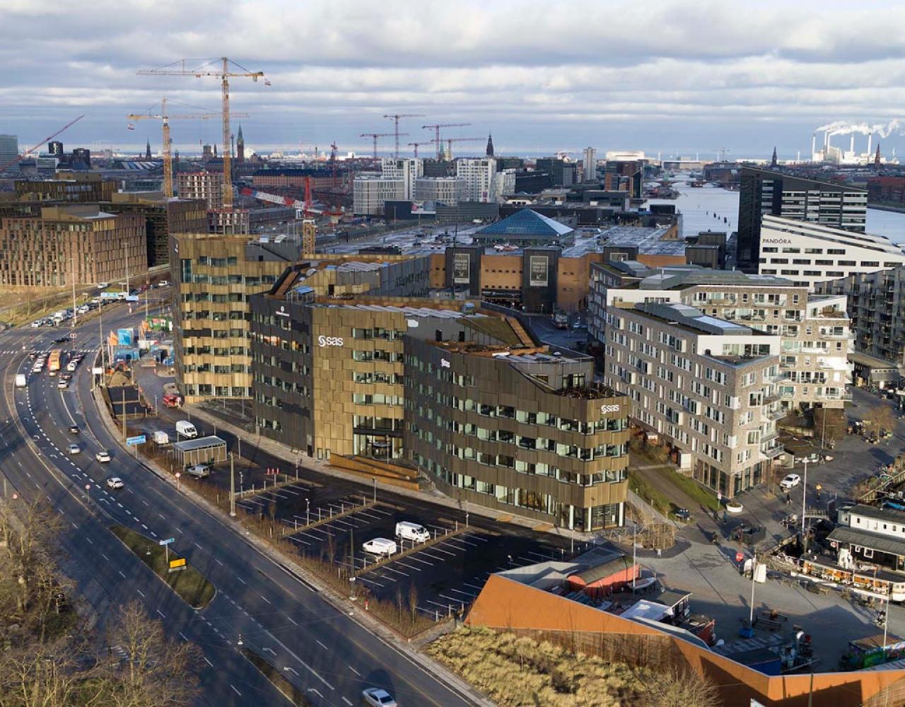 Skanskas CPH Highling på Havneholmen