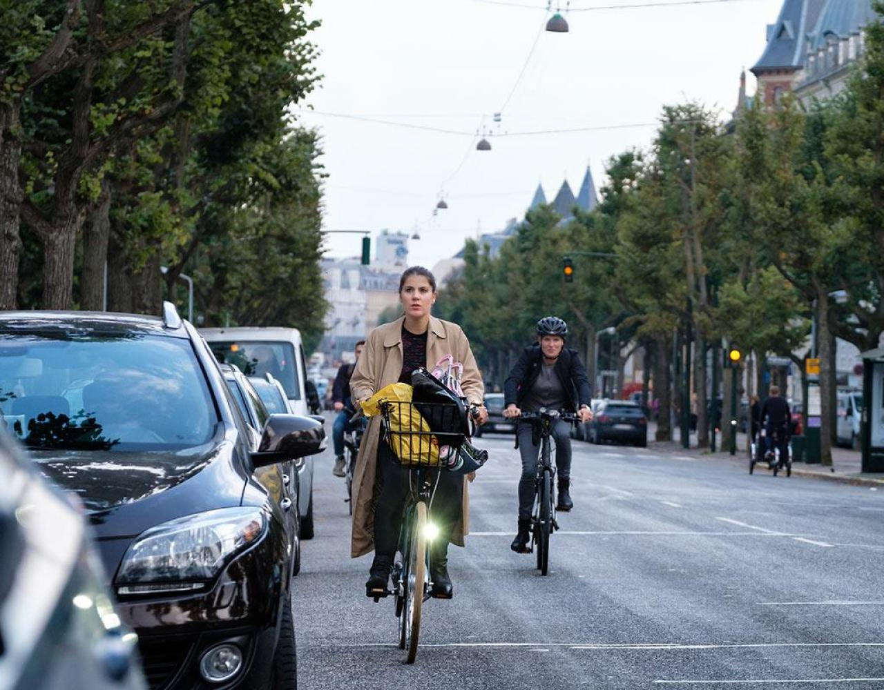 Cykelstier Frederiksberg Allé