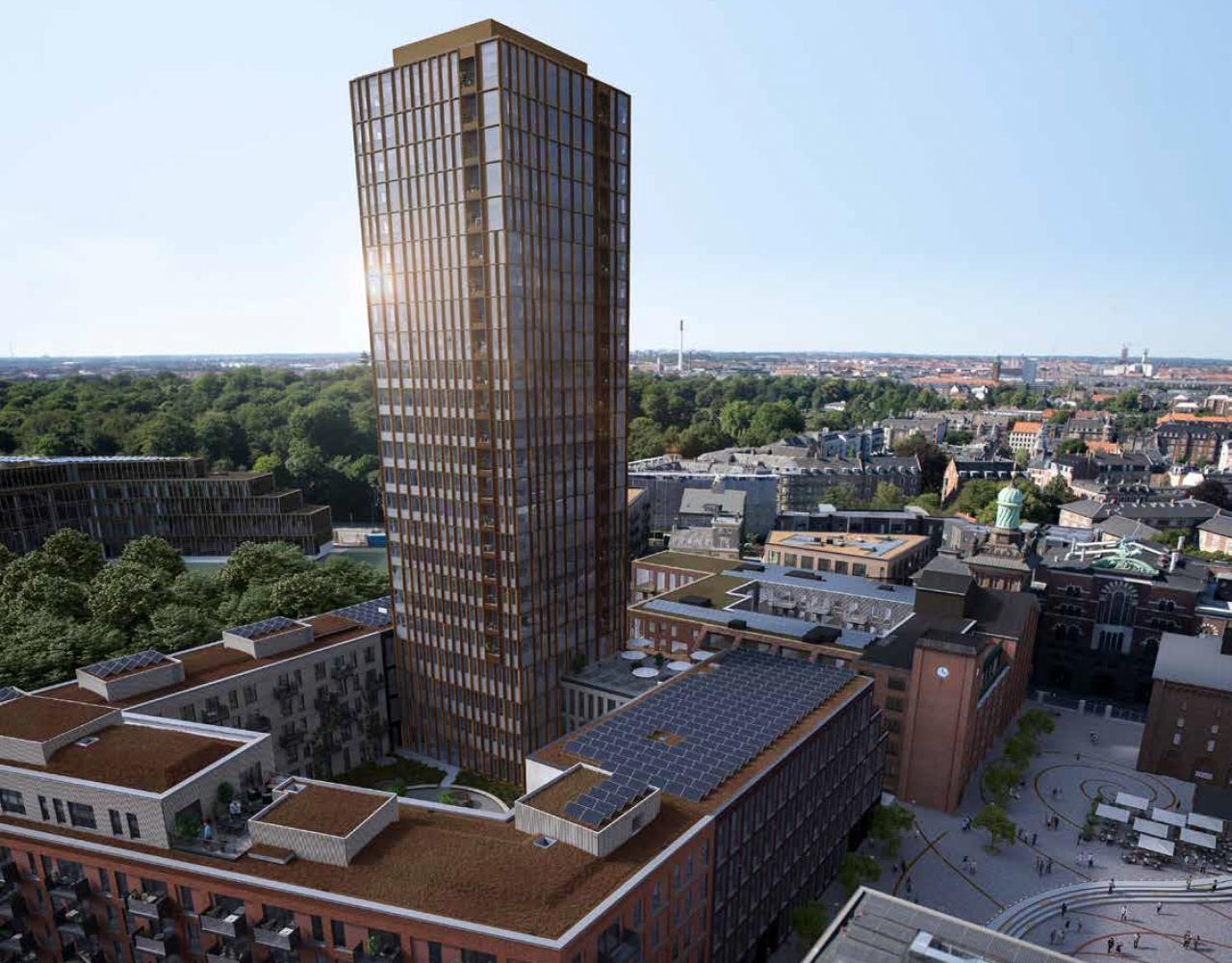 dahlerups tårn carlsberg byen