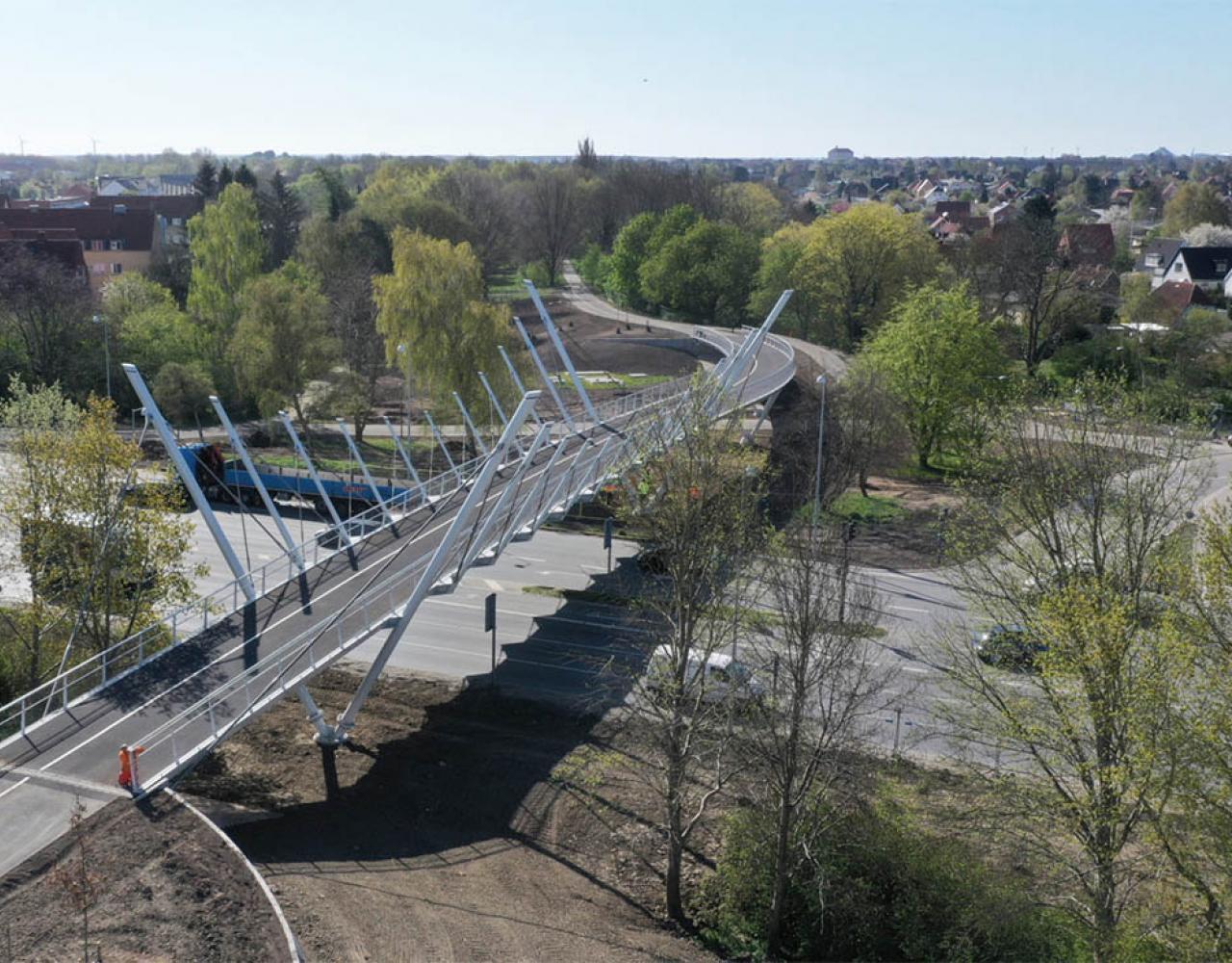 cykelbro gangbro vigerslevparken