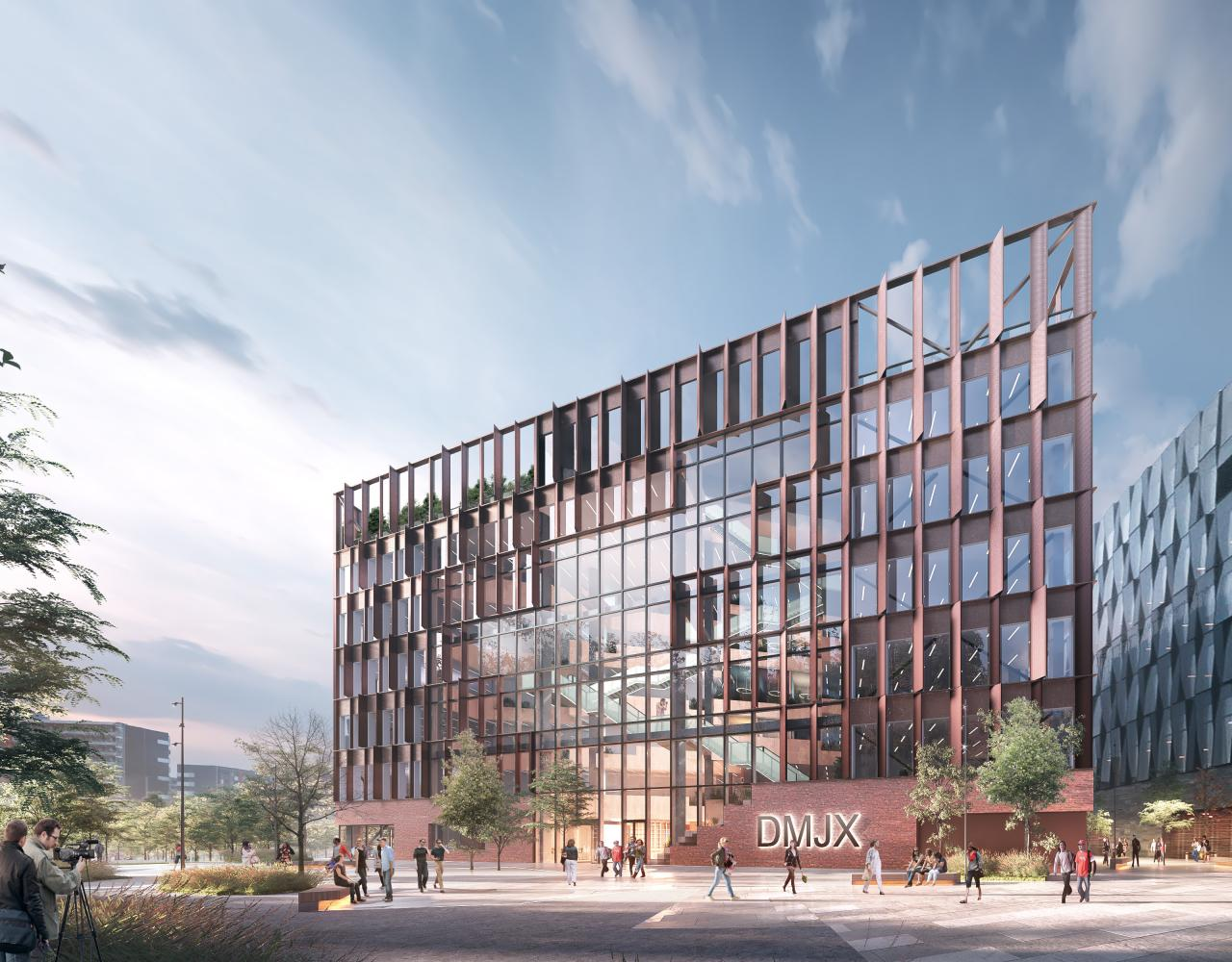 PLH Arkitekter, DMJX, Ørestad, journalisthøjskole