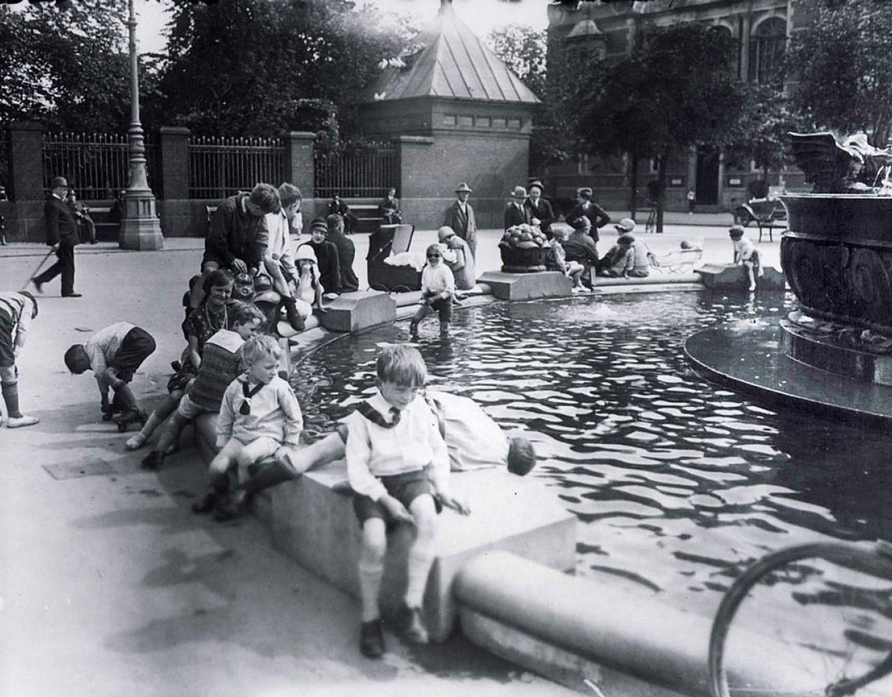 Dragespringvandet 1923