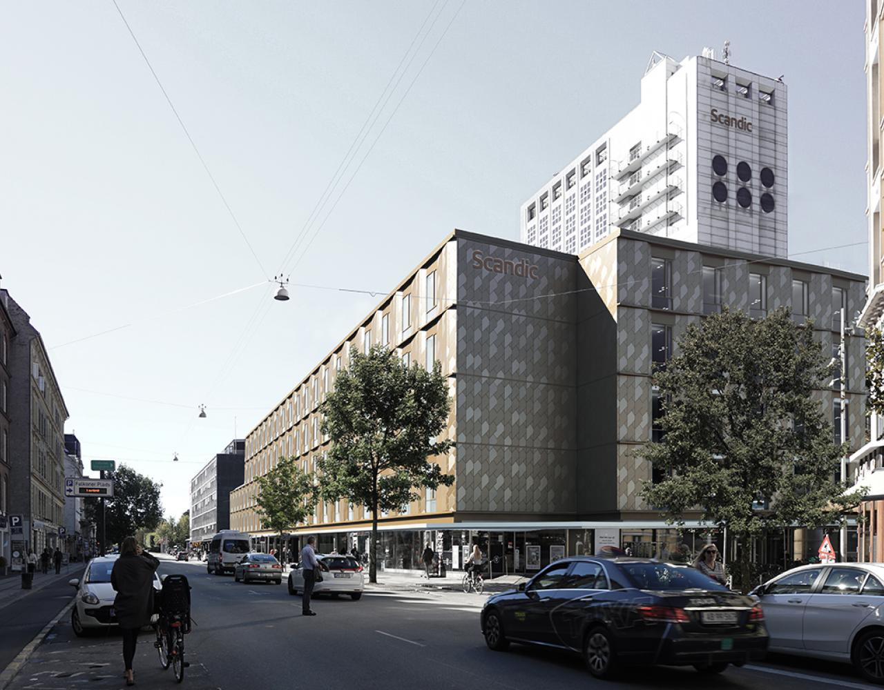 falkoner centret ombygning