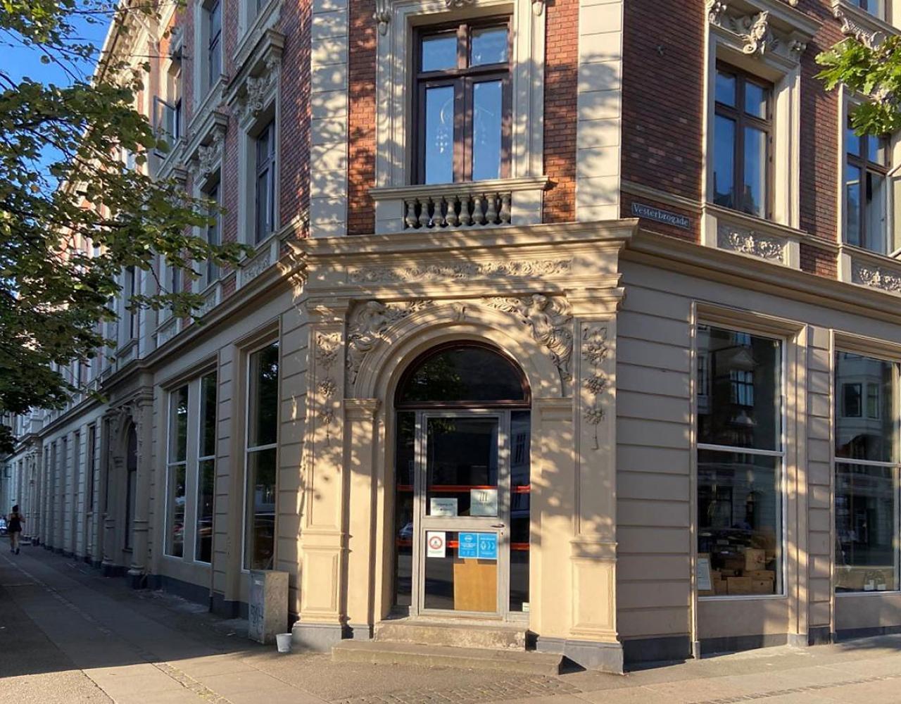 Frederiksberg facade vesterbrogade