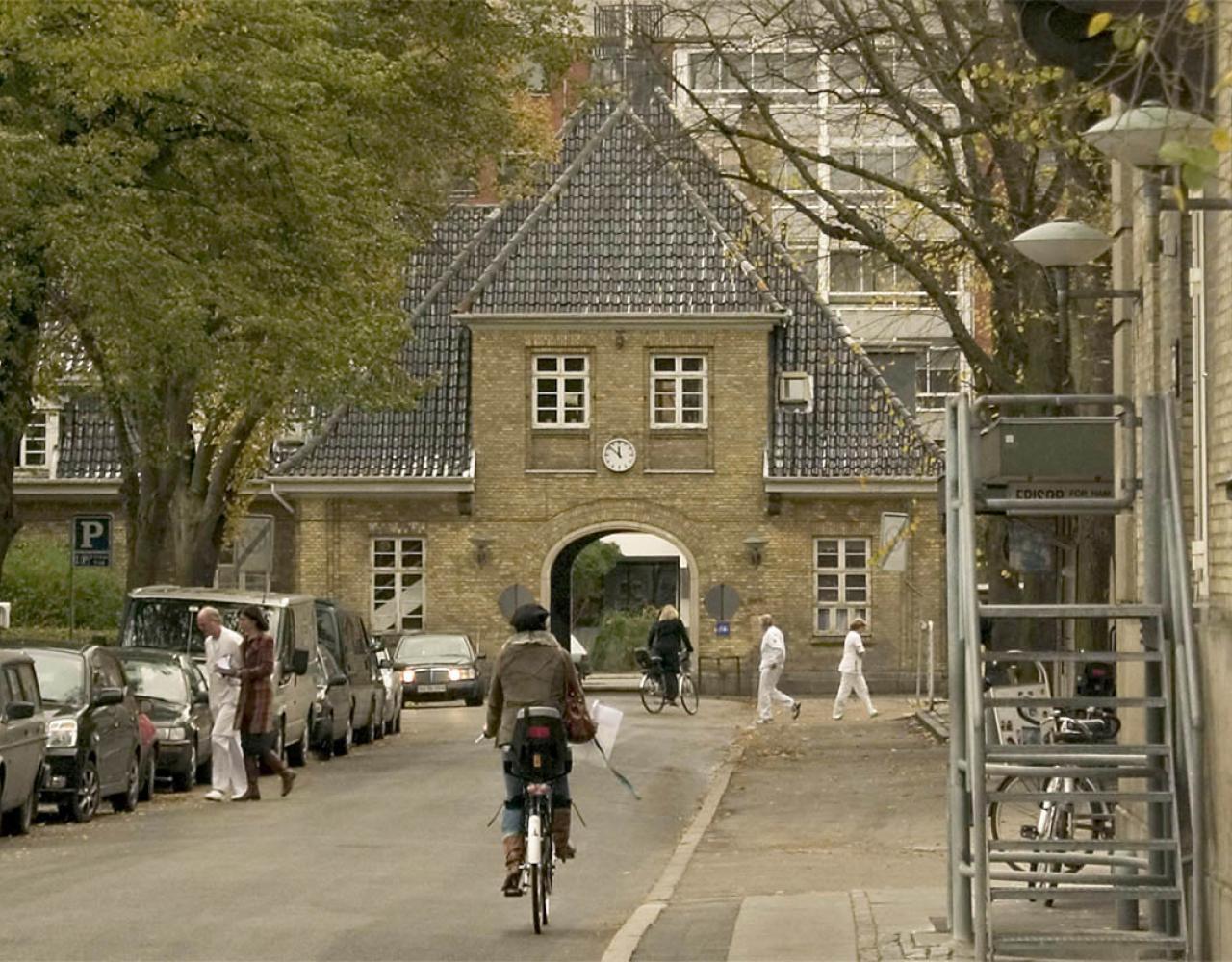 frederiksberg hospital port og hovedvej