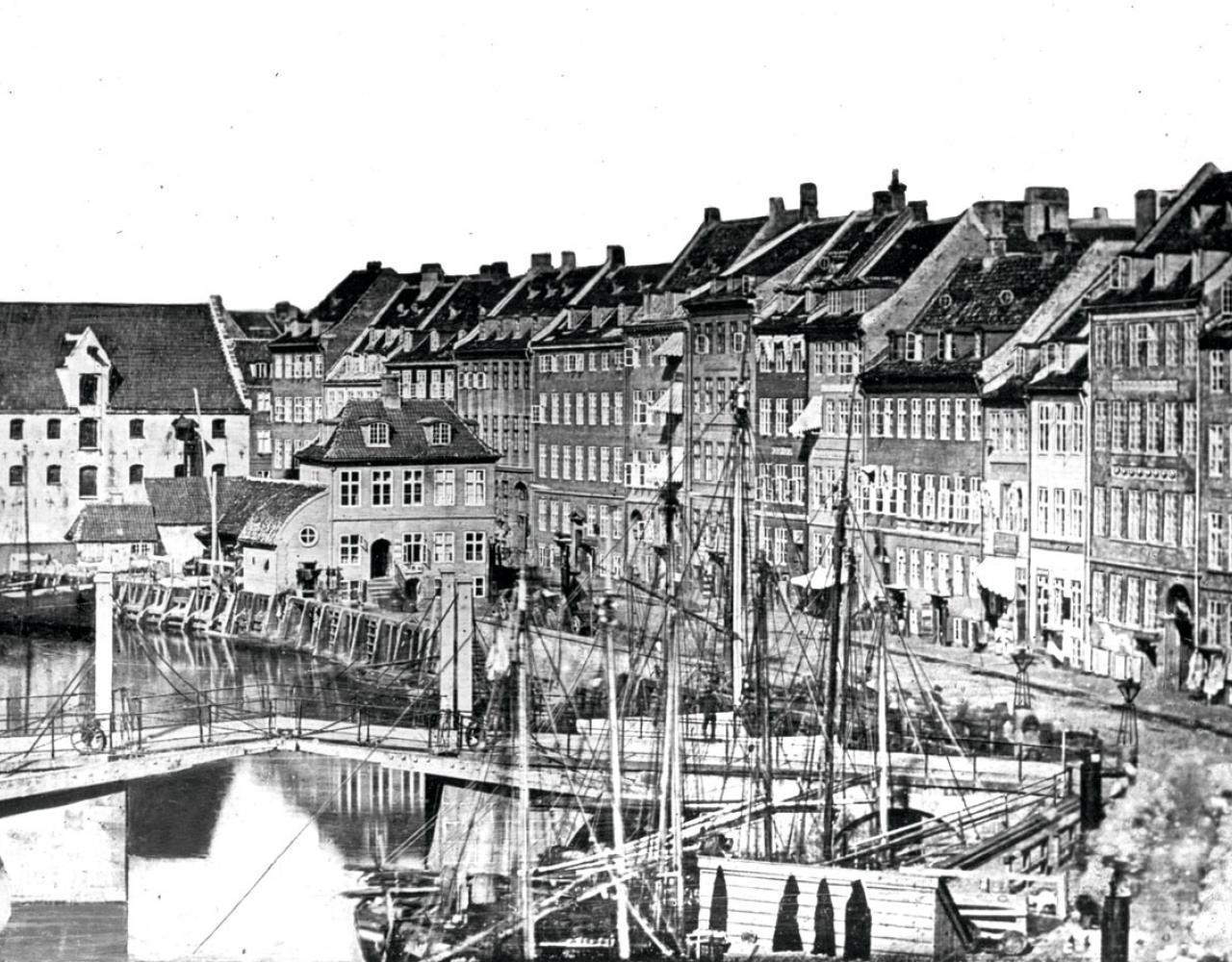 Gammel Strand København 1840 første foto