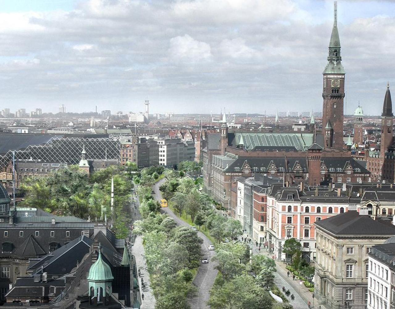 den grønne boulevard hc andersens boulevard
