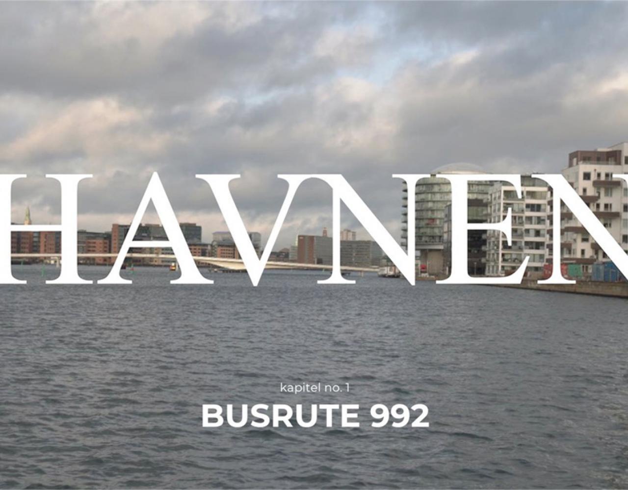 havnen busrute 992