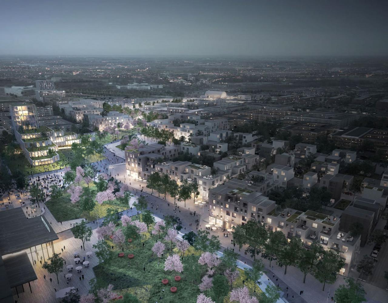 skateparken i hoeje taastrup c staar klar i 2021