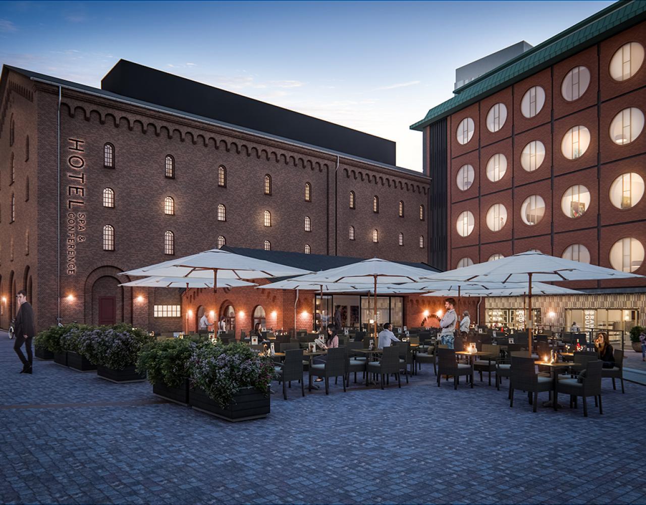 carlsberg byen hotel ottilia