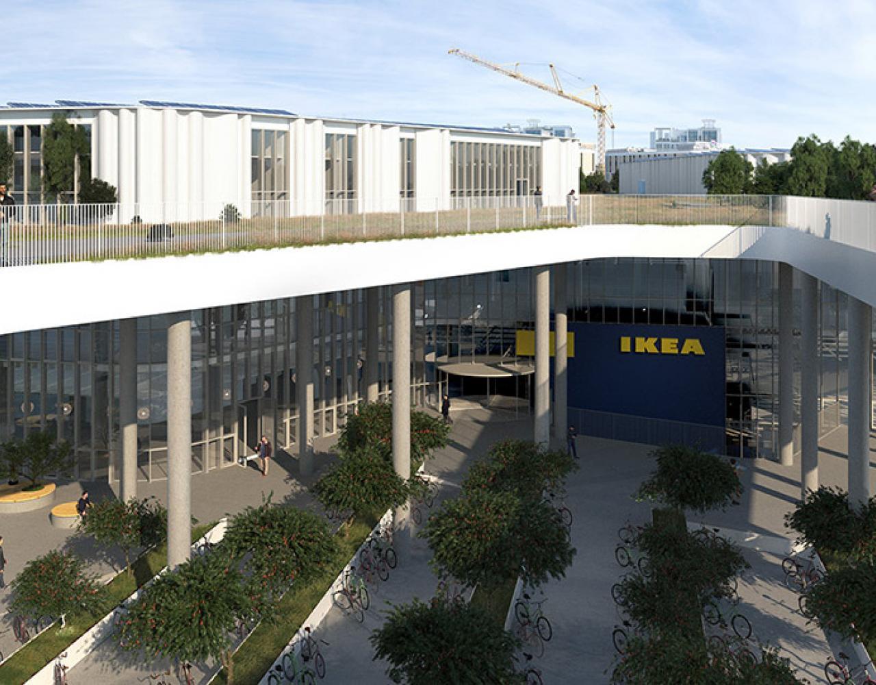 Den endelige lokalplan for Ikea City