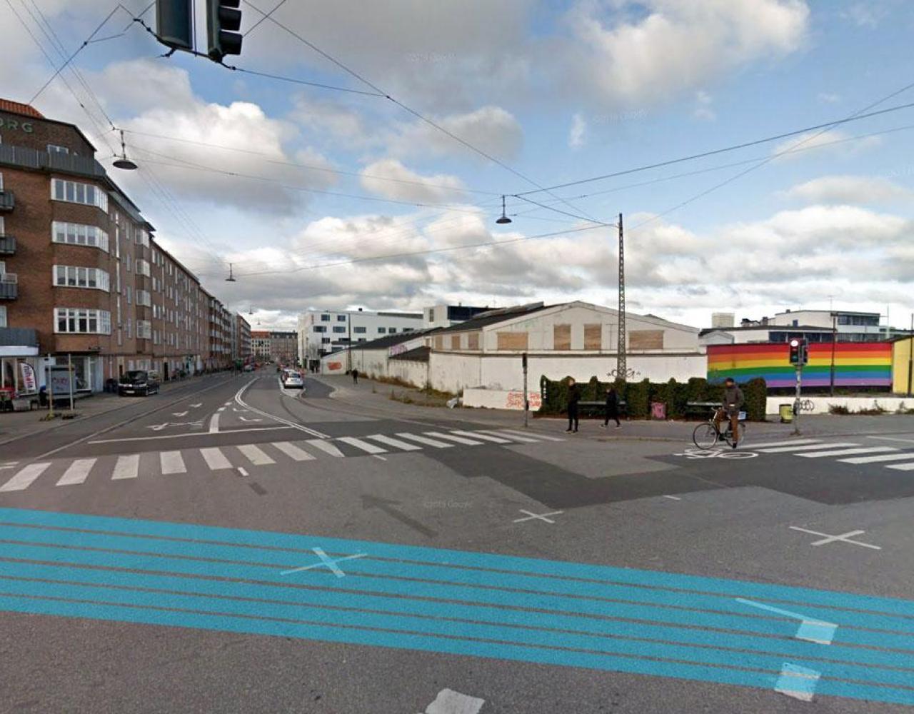 Renovering af krydset ved Yrsas Plads