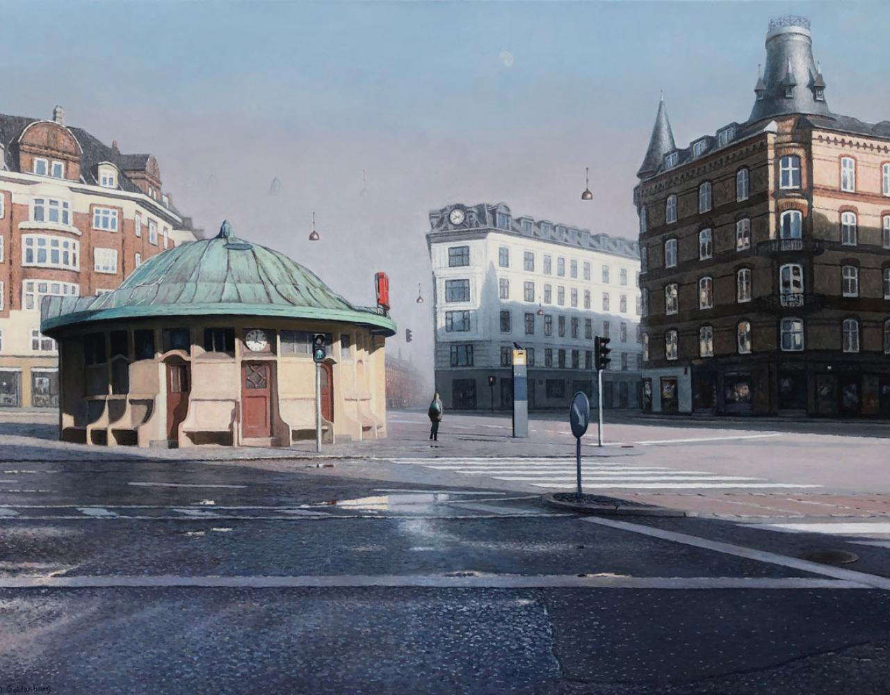 maleri trianglen københavn