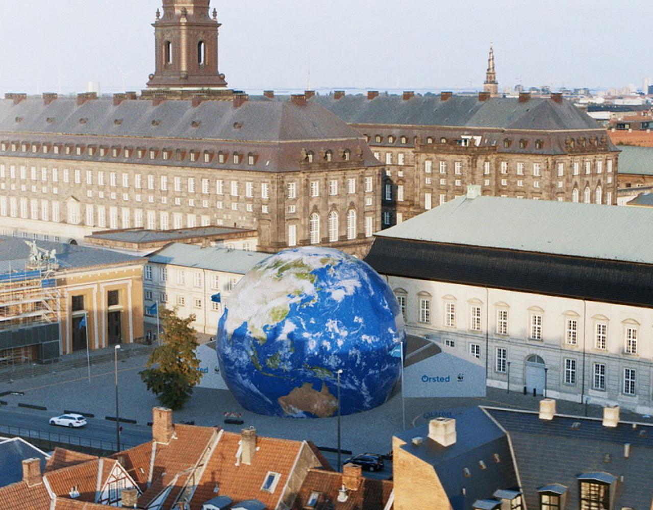 globe bertel thorvaldsens plads
