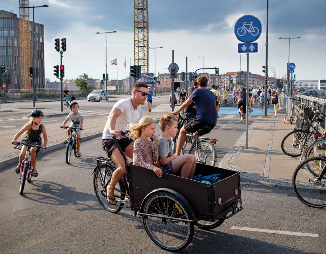 københavn christiania cykel børn dybbølsbro