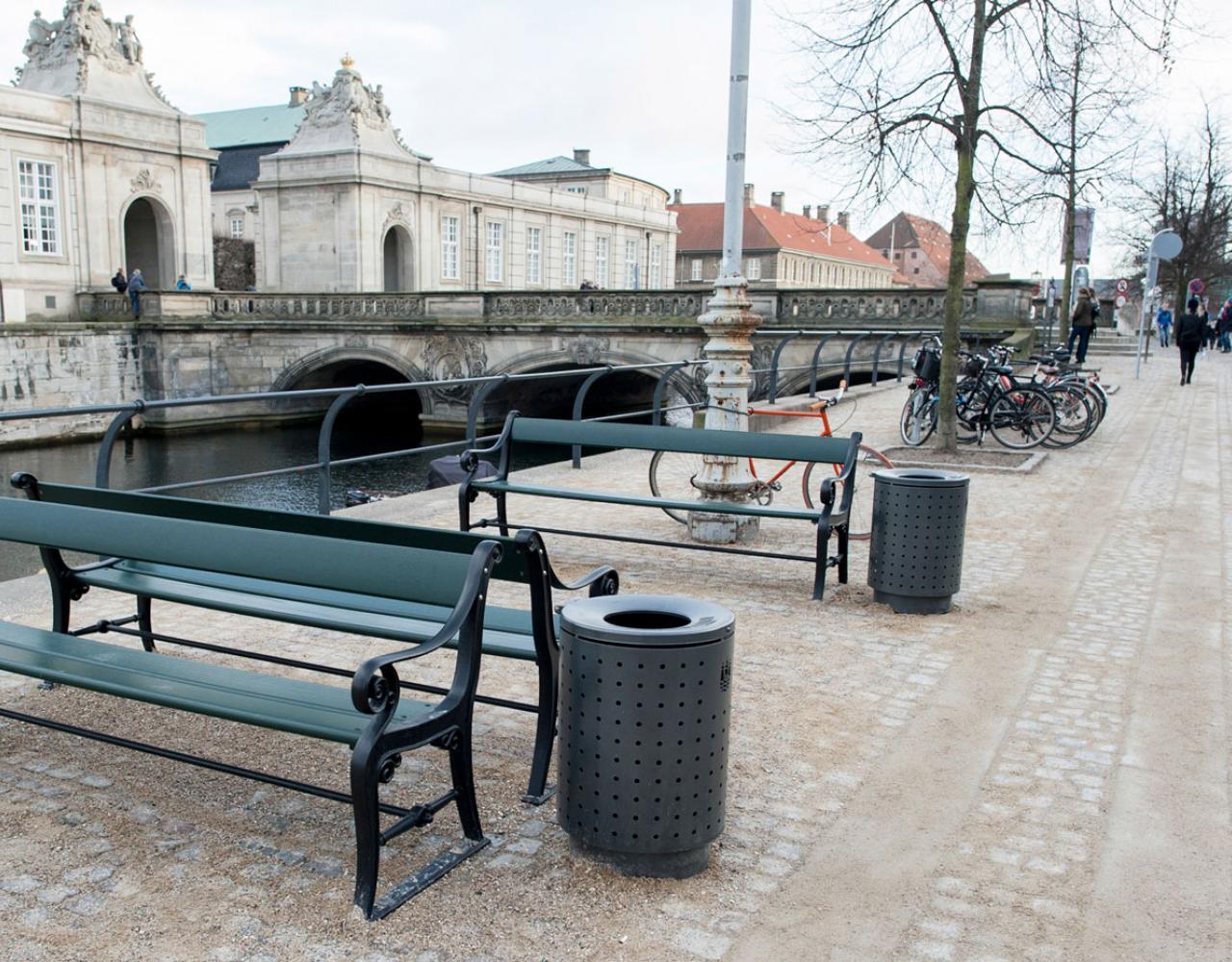 Københavnerbænken Frederiksholms Kanal