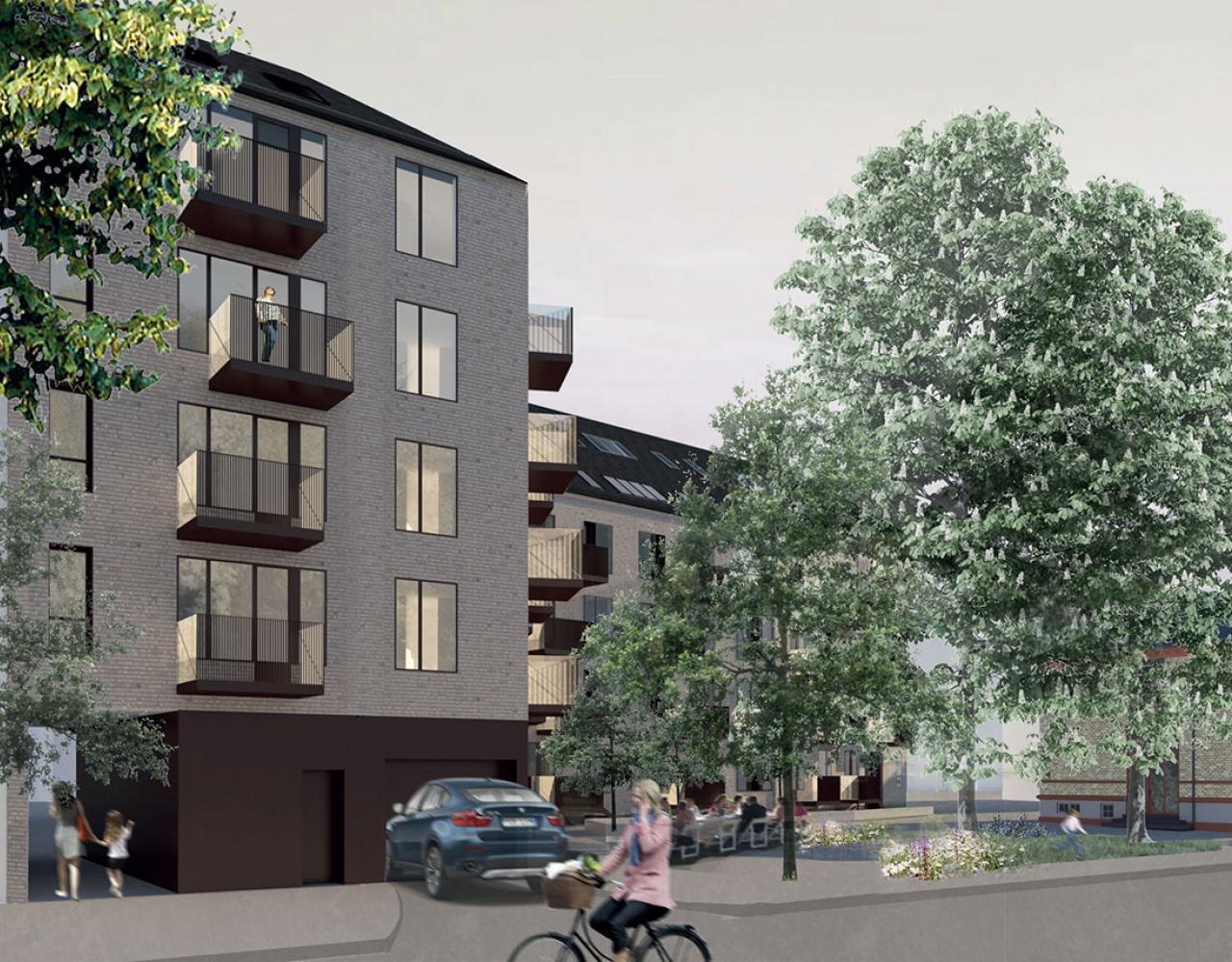Kong Georgsvej Frederiksberg ny plads