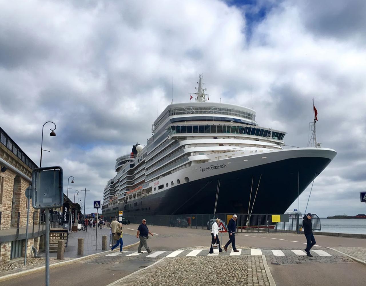 langelinie cruise krydstogtskib