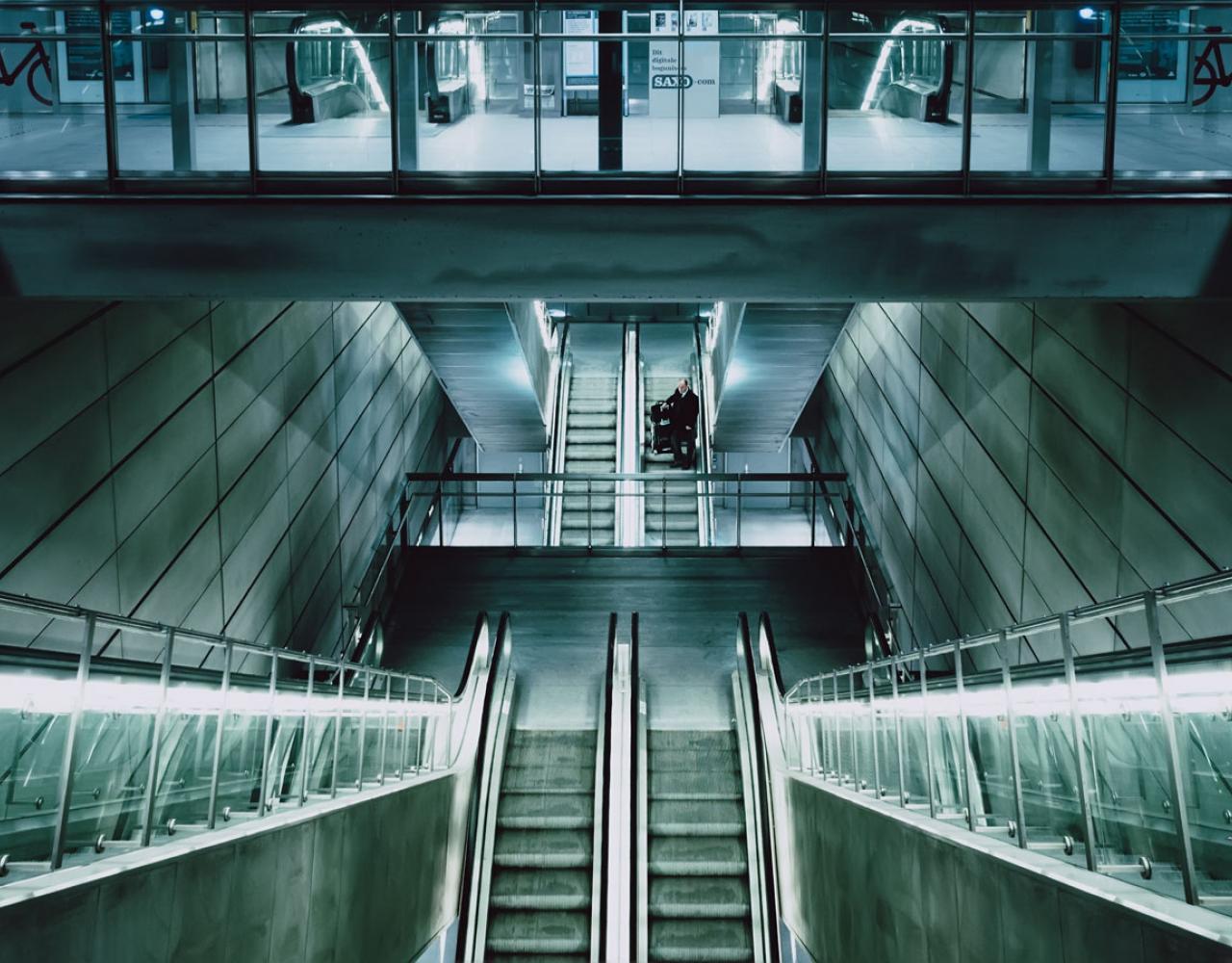metro københavn trapper