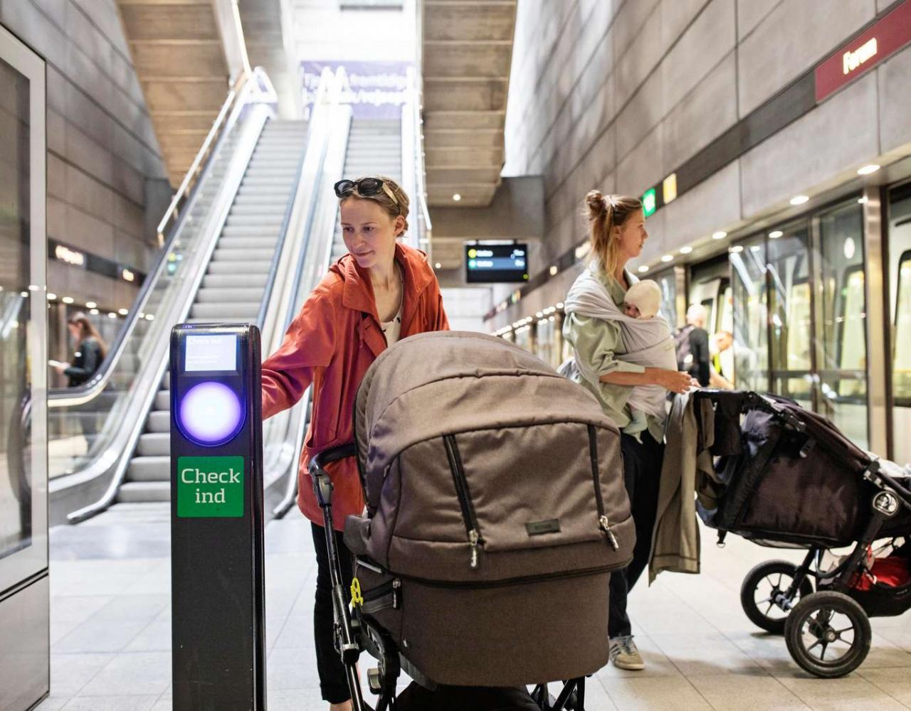 metrostation københavn check ind