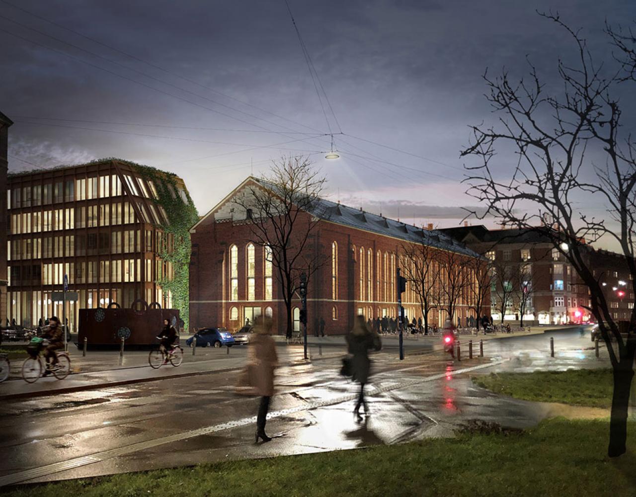 Nuuks Plads rendering 2020