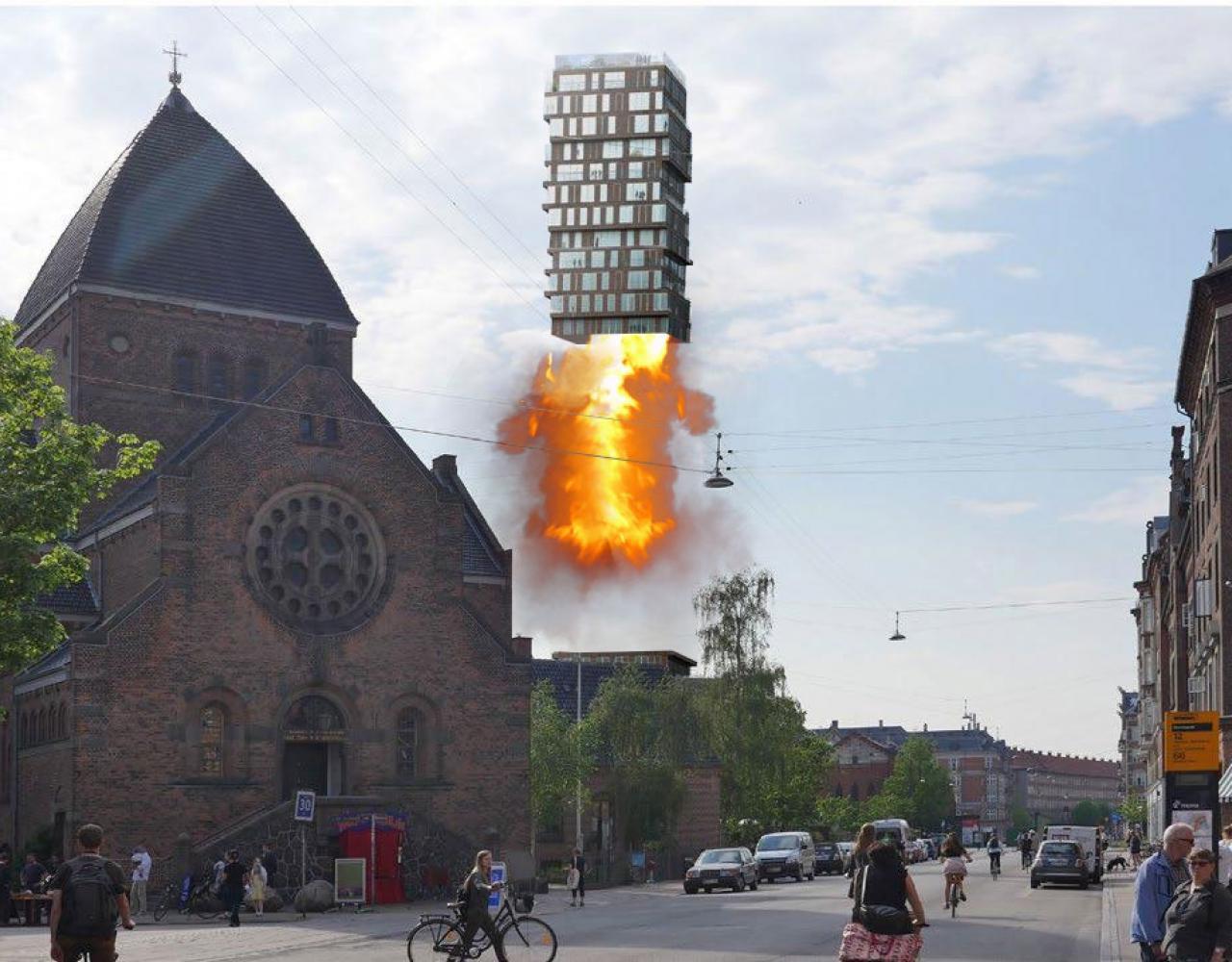 Nuuks Plads 24 meter raket