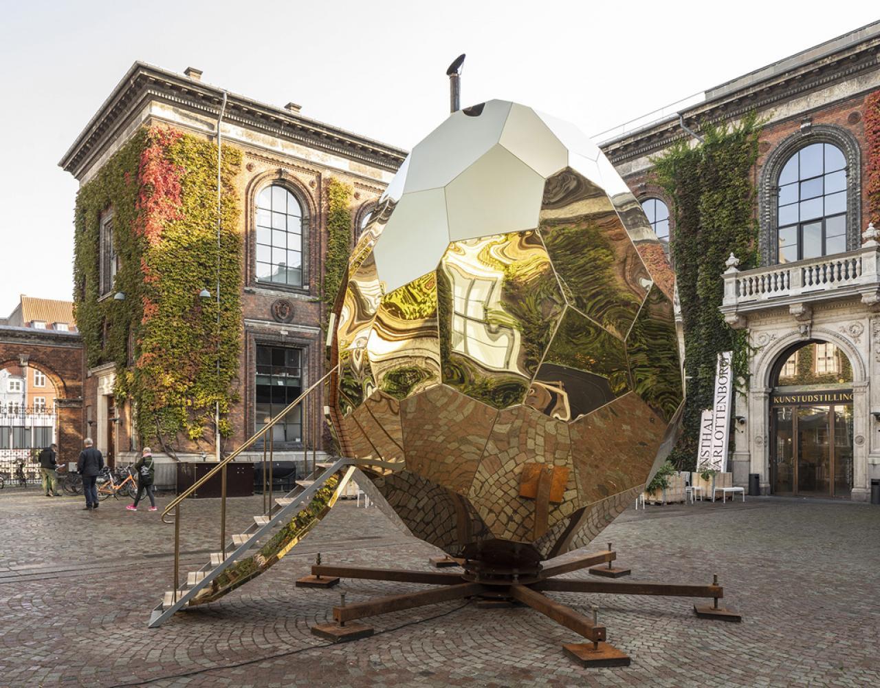 solar egg charlottenborg kunsthal