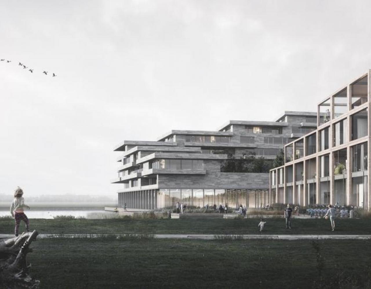 Ørestad amager fælled træbyggeri UN17