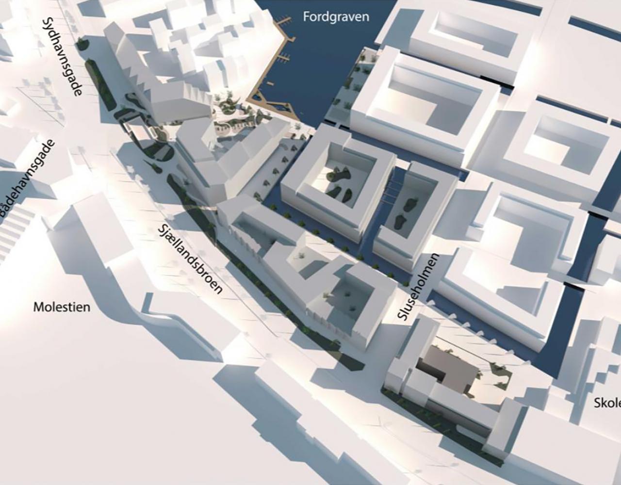 sluseholmen syd plan
