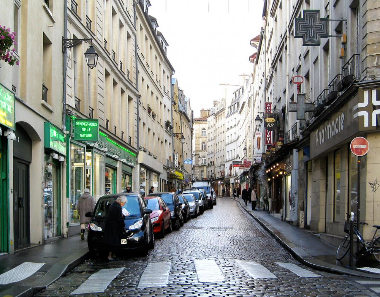 Paris street parking
