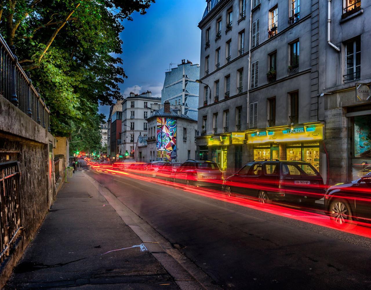 Paris gade