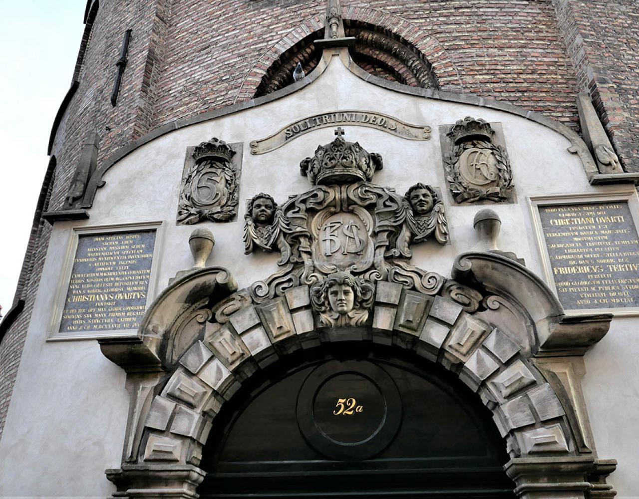 rundetårn indgang tavler