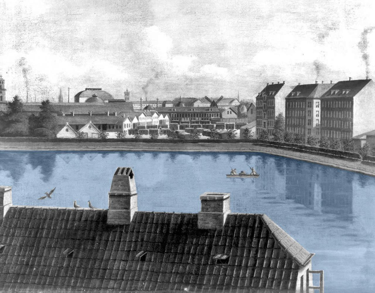 Sankt Jørgens Sø 1884