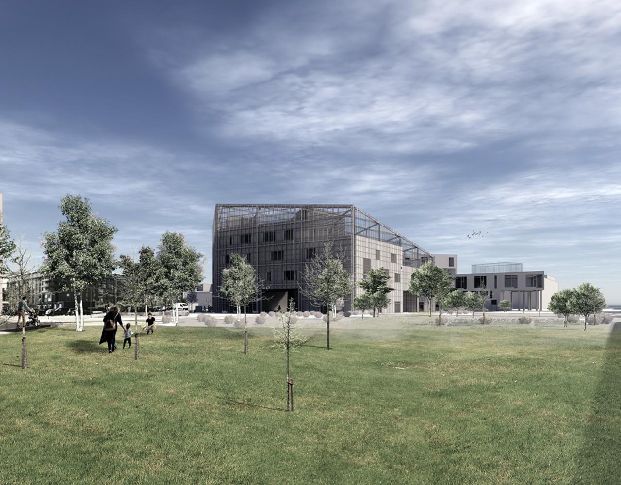 Skolen i Sydhavnen tilbygning