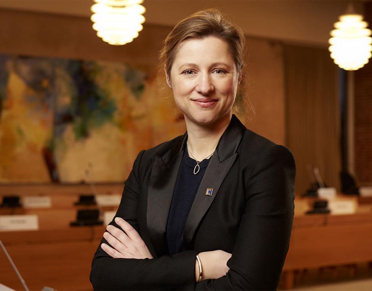 Sophie Hæstorp Andersen, borgmester, rådhus, socialdemokrat