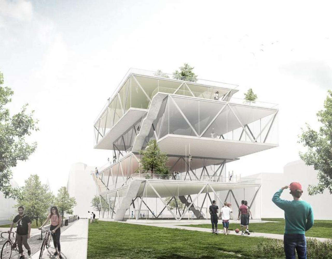 sportstårn werk arkitekter