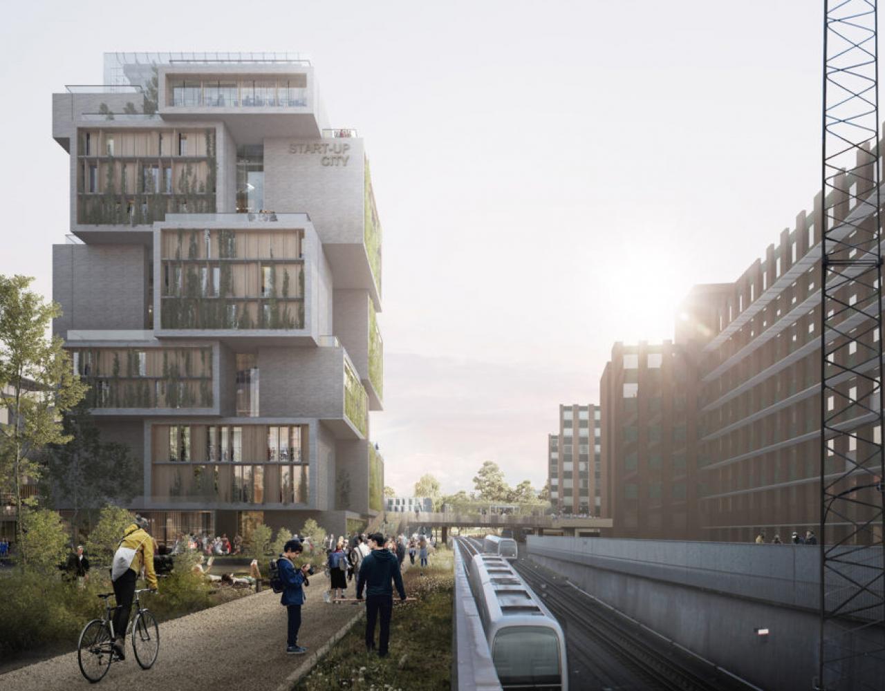 start-up city fra metroterræn