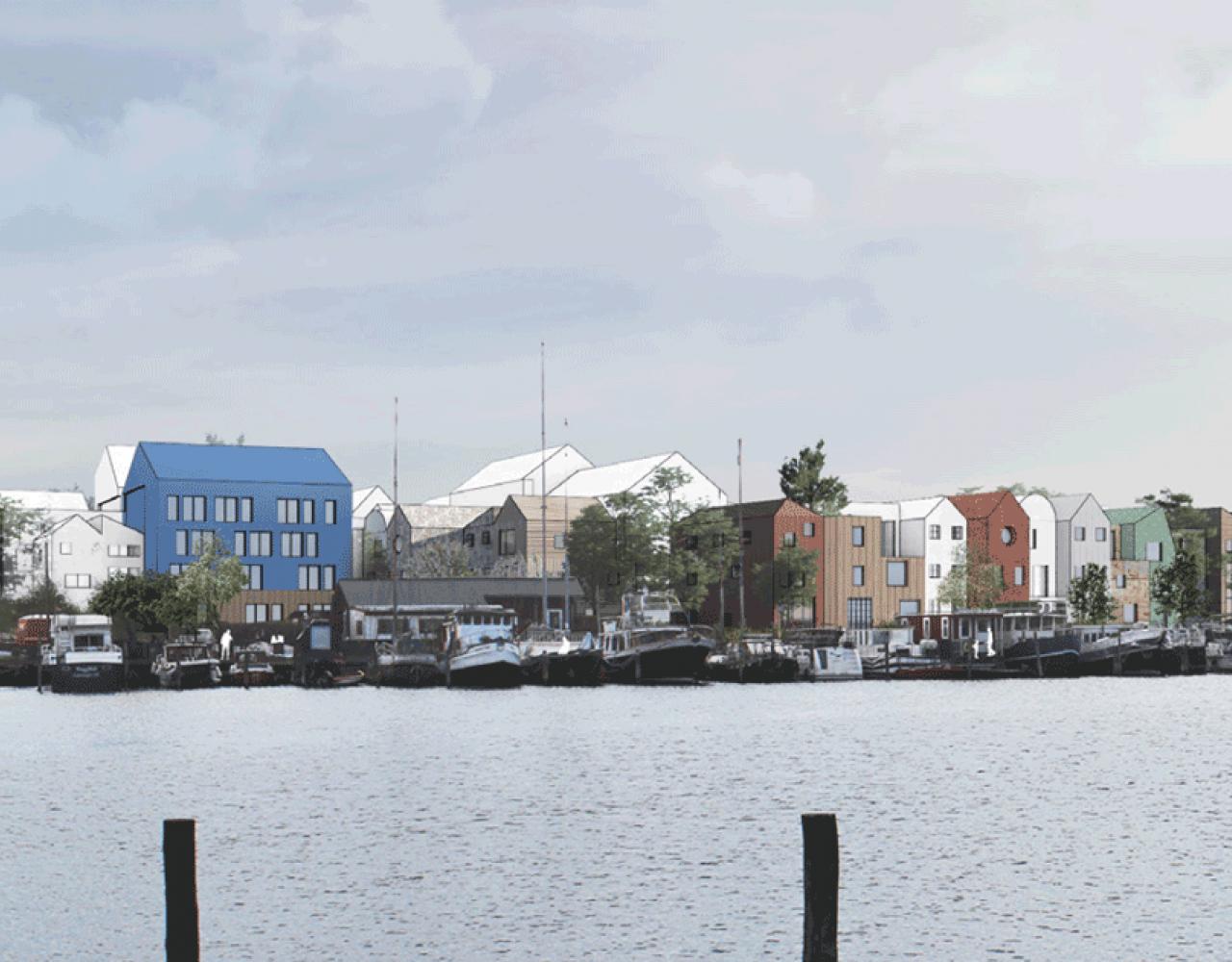 Stejlepladsens nye boligområde