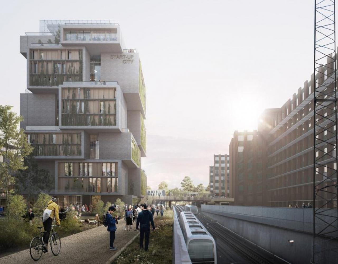 start-up city metrobanen