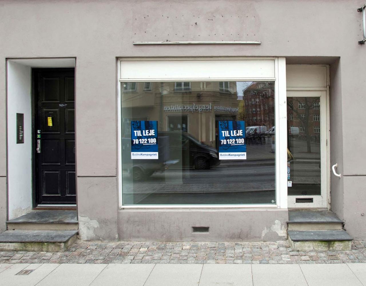 Butik til leje København