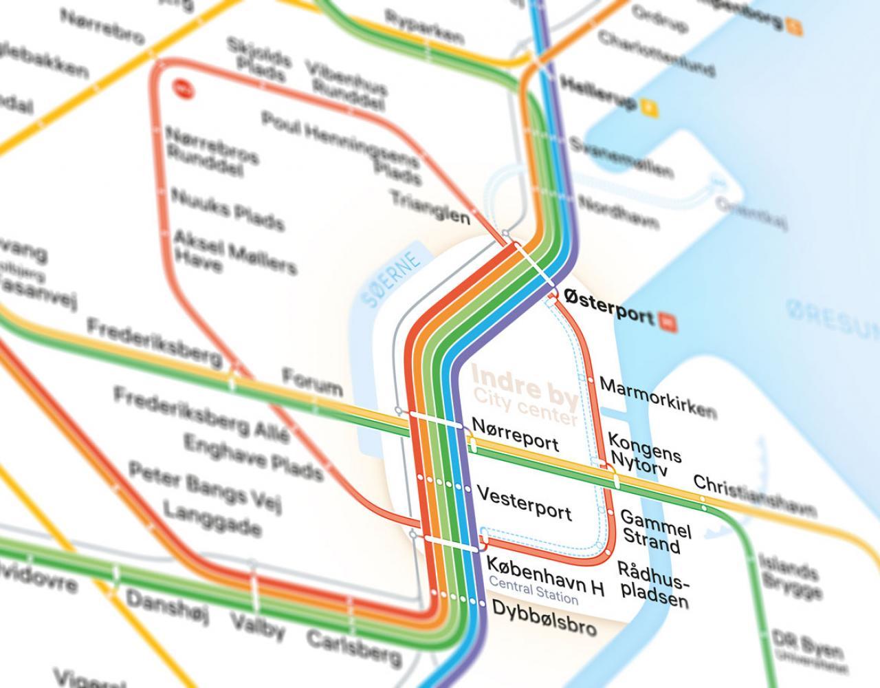 CPH transitmap