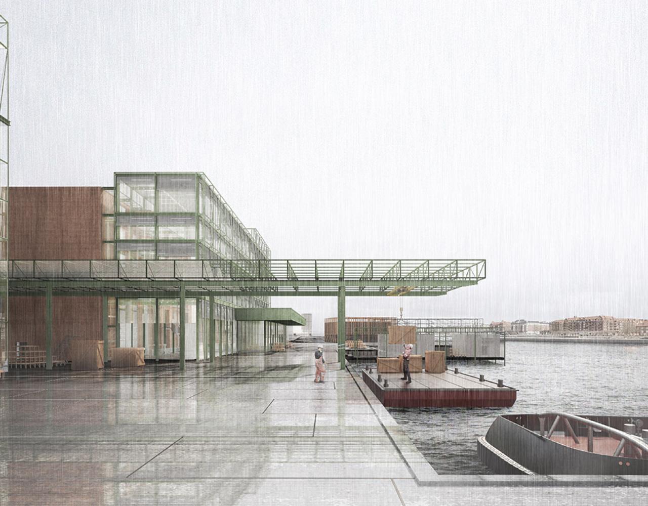 Udvidet havnefront langs Kalvebod Brygge