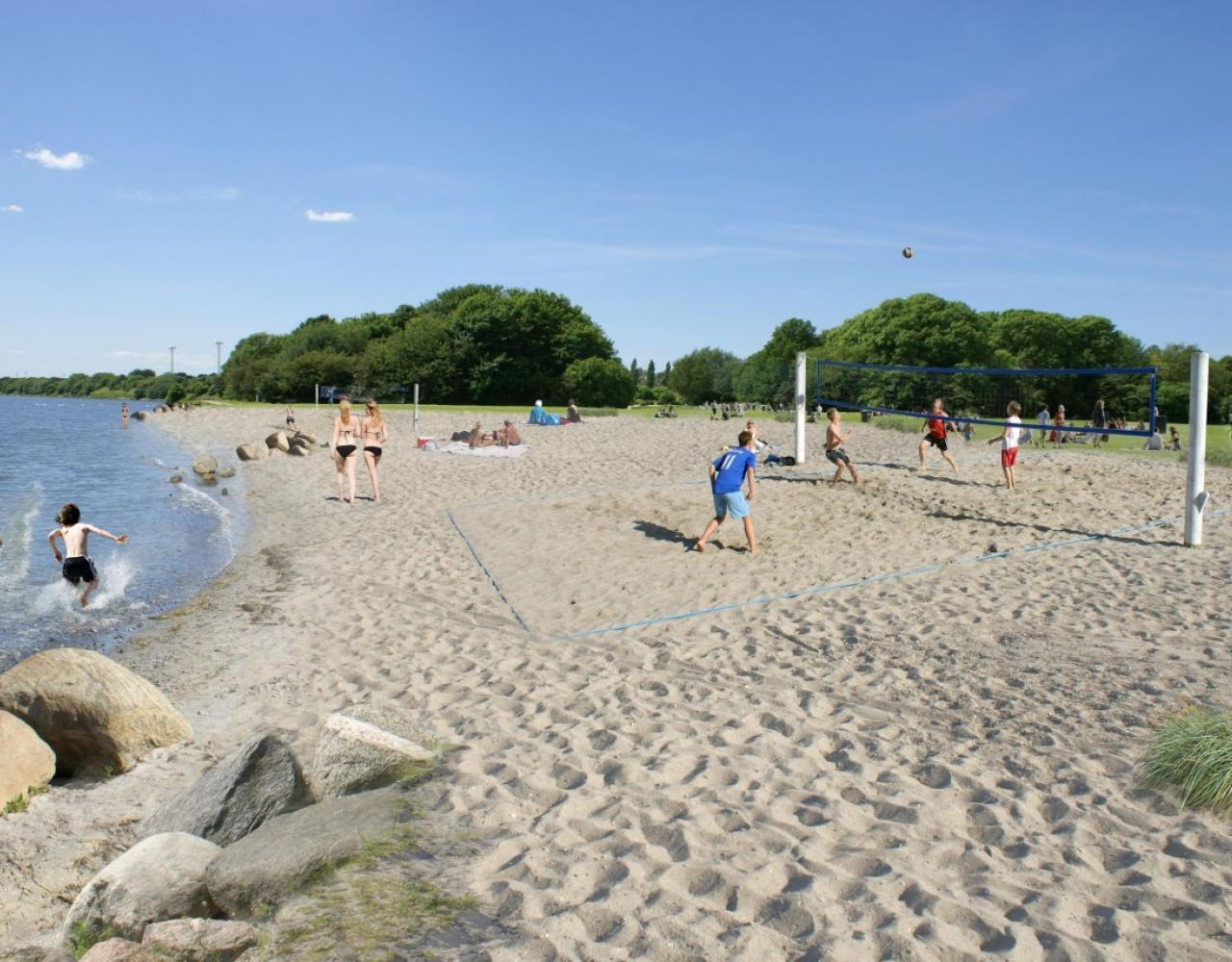 sandstrand valbyparken