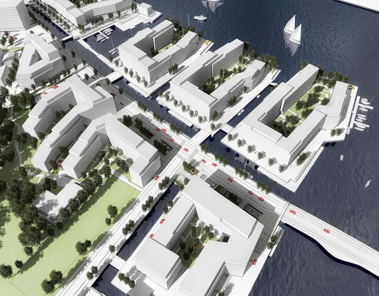Godkendt lokalplan for Enghave Brygge Syd