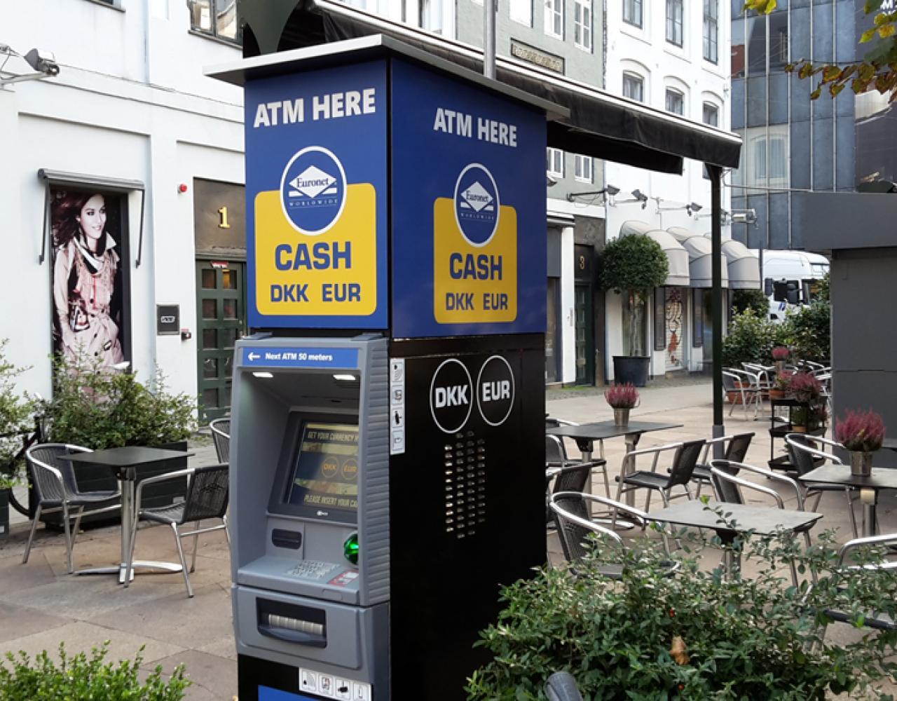 hæveautomat euronet strøget