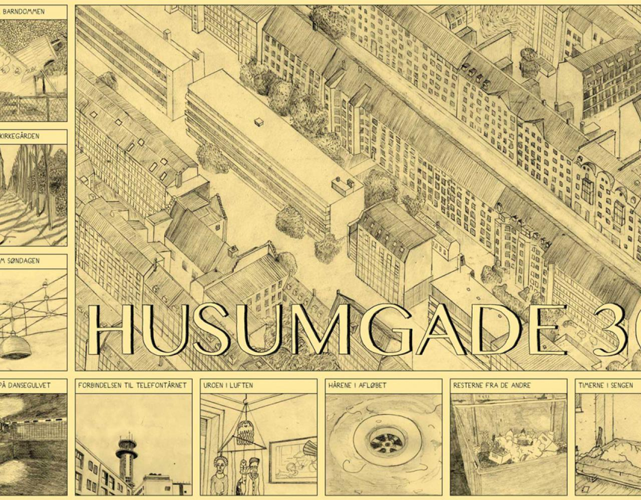Bue B Husumgade 30 plakat