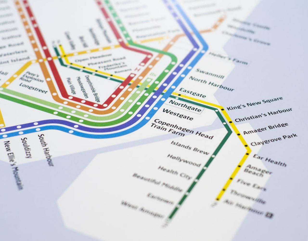 metromash transit map copenhagen