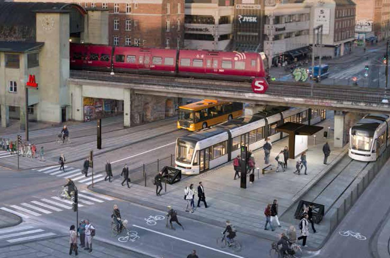 letbane nørrebro station