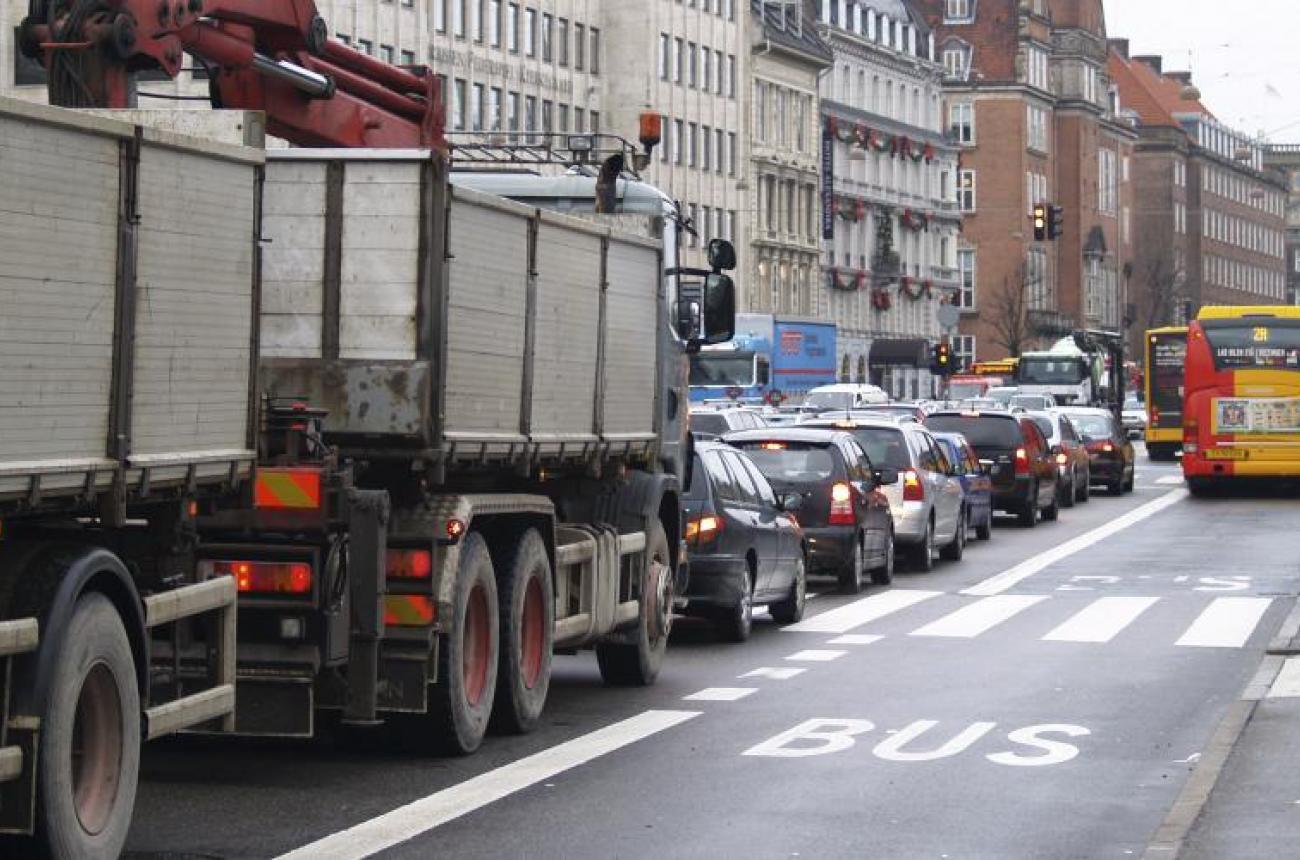 Biltrafik HC Andersens Boulevard